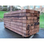 Sleepers - New Brown Treated Softwood Railway Sleepers 200mm x 100mm x 1.2m